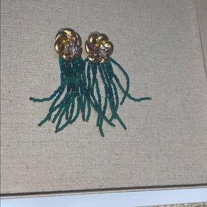 Stella and Dot Lillian Fringe Earrings